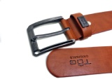 Leatherette belt--KN-50728